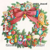 Ingrid, CHRISTMAS SYMBOLS, WEIHNACHTEN SYMBOLE, NAVIDAD SÍMBOLOS,christmas wreath, paintings+++++,USISPROV6,#xx#