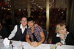 """Michael Emeraon (Point of Interest), Telly Leung (Glee) and As The World Turns Eileen Fulton """"Lisa"""" attend the 25th Annual Broadway Flea Market & Grand Auction to benefit Broadway Cares/Equity Fights Aids on September 25, 2011 in New York CIty, New York.  (Photo by Sue Coflin/Max Photos)"""