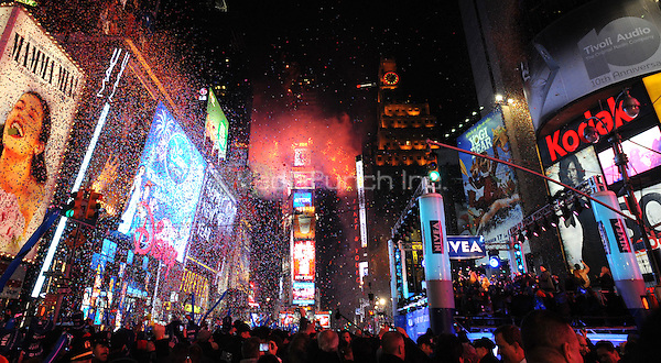 New Year's Eve 2011 in Times Square in New York City December 31, 2010. © Dennis Van Tine / MediaPunch Inc.