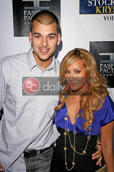 Robert Kardashian and Adrienne Bailon<br />