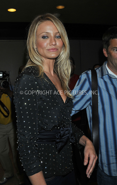 WWW.ACEPIXS.COM . . . . . ....June 24 2009, New York city....Actress Cameron Diaz made an appearance at the MTV Studios in Times Square on June 24 2009 in New York City....Please byline: AJ SOKALNER - ACEPIXS.COM.. . . . . . ..Ace Pictures, Inc:  ..tel: (212) 243 8787 or (646) 769 0430..e-mail: info@acepixs.com..web: http://www.acepixs.com
