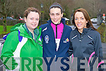 Pictured leading the Gneeveguilla Winter Series 5k run in Killarney on Saturday morning were Milla O'Donnell, Niamh Browne and Ann O'Riordan Murphy.