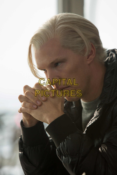 Benedict Cumberbatch<br /> in The Fifth Estate (2013) <br /> *Filmstill - Editorial Use Only*<br /> CAP/NFS<br /> Image supplied by Capital Pictures