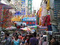 HONG KONG--Streets & Food