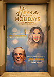 "Theatre Marquee unveiling for  ""Home For The Holidays"" starring Kaitlyn Bristowe and Danny Aiello at August Wilson Theatre Theatre on November 3, 2017 in New York City."