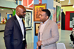 MIAMI, FL - DECEMBER 05: Actor Jimmy Jean-Louis and Haiti Counsel General Stephane Gilles attends the NE2P Art Beat Miami Chef Creole Celebrity Brunch at the Little Haiti Cultural Center on Saturday December 05, 2015 in Doral, Florida.  ( Photo by Johnny Louis / jlnphotography.com )