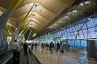 L'aeroporto Barajas di Madrid