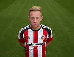 Mark Duffy of Sheffield Utd during the 2016/17 Photo call at Bramall Lane Stadium, Sheffield. Picture date: September 8th, 2016. Pic Simon Bellis/Sportimage