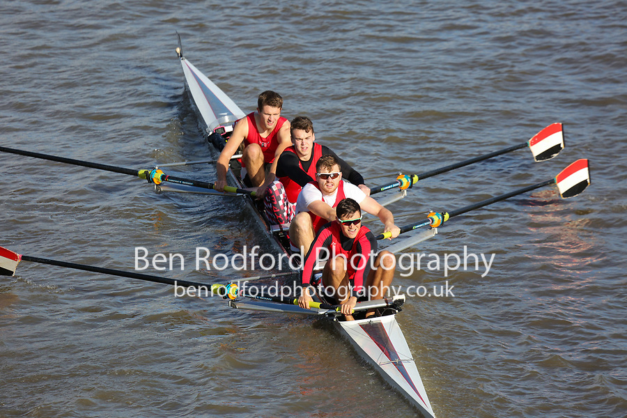 Crew: 53  UWE (B)  University of the West of England (A Heath)  4+ Acad Champ<br /> <br /> Fours Head of the River 2018<br /> <br /> To purchase this photo, or to see pricing information for Prints and Downloads, click the blue 'Add to Cart' button at the top-right of the page.