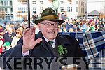 103 year old Michael O'Connor the grand marshall at the Killarney St Patricks Day parade