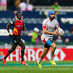 Papua New Guinea vs Tunisia during their HSBC Sevens Wold Series Qualifier match as part of the Cathay Pacific / HSBC Hong Kong Sevens at the Hong Kong Stadium on 27 March 2015 in Hong Kong, China. Photo by Xaume Olleros / Power Sport Images