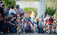 77th Flèche Wallonne 2013..Rinaldo Nocentini (ITA)
