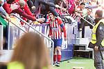 Atletico de Madrid Antoine Griezmann celebrating a goal during La Liga match between Atletico de Madrid and Deportivo Alaves at Wanda Metropolitano in Madrid, Spain. December 08, 2018. (ALTERPHOTOS/Borja B.Hojas)