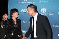 LOS ANGELES - JAN 5:  Kris Jenner, Josh Duhamel at the Art of Elysium 12th Annual HEAVEN Celebration at a Private Location on January 5, 2019 in Los Angeles, CA