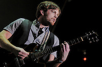 Kings of Leon perform at Madison Square Garden ,<br />