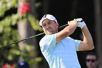 Darren Fichardt (RSA) tees off the 11th tee during Sunday's Final Round of the 2018 Turkish Airlines Open hosted by Regnum Carya Golf &amp; Spa Resort, Antalya, Turkey. 4th November 2018.<br /> Picture: Eoin Clarke | Golffile<br /> <br /> <br /> All photos usage must carry mandatory copyright credit (&copy; Golffile | Eoin Clarke)