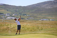 Matt McAlpin playing with Alexander Levy (FRA) during the ProAm Day of the 2018 Dubai Duty Free Irish Open, Ballyliffin Golf Club, Ballyliffin, Co Donegal, Ireland.<br /> Picture: Golffile | Jenny Matthews<br /> <br /> <br /> All photo usage must carry mandatory copyright credit (&copy; Golffile | Jenny Matthews)