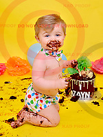 Zayn's 1st Birthday Cake Smash 19/11/17