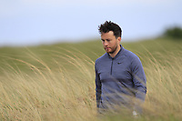 Gerard Dunne (Co.Louth) walking to the 9th tee during Round 2 of The East of Ireland Amateur Open Championship in Co. Louth Golf Club, Baltray on Sunday 2nd June 2019.<br /> <br /> Picture:  Thos Caffrey / www.golffile.ie<br /> <br /> All photos usage must carry mandatory copyright credit (© Golffile   Thos Caffrey)