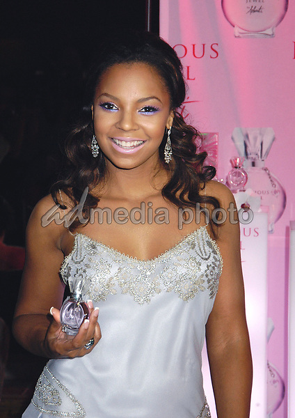 28 September 2005 - New York, New York -  Ashanti unveils her new signature scent, Precious Jewel by Ashanti at the club Providence in Manhattan.<br /> Photo Credit: Patti Ouderkirk/AdMedia