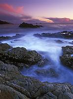 Big Sur Coast  at sunset - Garrapata State Park