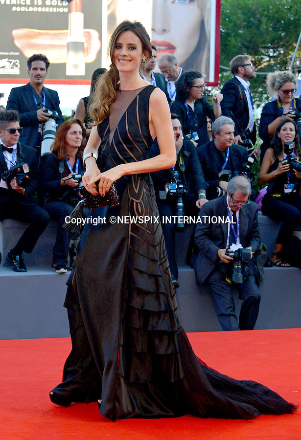 31.08.2016; Venice, Italy: PILAR LOPEZ DE AYALA<br /> atttends &ldquo;La La Land&rdquo; screening at the 73rd Venice Film Festival.<br /> Mandatory Credit Photo: &copy;NEWSPIX INTERNATIONAL<br /> <br /> PHOTO CREDIT MANDATORY!!: NEWSPIX INTERNATIONAL(Failure to credit will incur a surcharge of 100% of reproduction fees)<br /> <br /> IMMEDIATE CONFIRMATION OF USAGE REQUIRED:<br /> Newspix International, 31 Chinnery Hill, Bishop's Stortford, ENGLAND CM23 3PS<br /> Tel:+441279 324672  ; Fax: +441279656877<br /> Mobile:  0777568 1153<br /> e-mail: info@newspixinternational.co.uk<br /> Please refer to usage terms. All Fees Payable To Newspix International