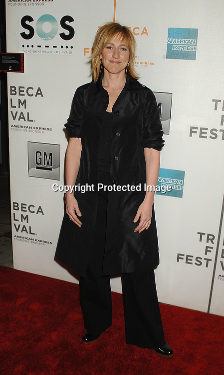 Edie Falco ..arriving to The Opening Night of The Tribeca Film Festival ..on April 25, 2007 at BMCC TribecaPac in New York City. ..Robin Platzer, Twin Images