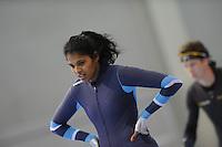 SCHAATSEN: SALT LAKE CITY: Utah Olympic Oval, 13-11-2013, Essent ISU World Cup, training, Anice Das (NED), ©foto Martin de Jong