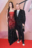 Anna Cleveland and Jean Paul Gaultier<br /> at the Fashion Awards 2016, Royal Albert Hall, London.<br /> <br /> <br /> &copy;Ash Knotek  D3210  05/12/2016