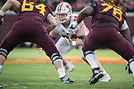 Wisconsin Badgers defensive lineman Conor Sheehy (94) during an NCAA College Big Ten Conference football game against the Minnesota Golden Gophers Saturday, November 25, 2017, in Minneapolis, Minnesota. The Badgers won 31-0. (Photo by David Stluka)