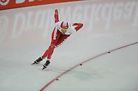 SCHAATSEN: GRONINGEN: Sportcentrum Kardinge, 18-01-2015, KPN NK Sprint, Marrit Leenstra, ©foto Martin de Jong