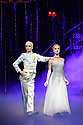 London, UK. 15.12.2017. Matthew Bourne's CINDERELLA returns to Sadler's Wells and runs until January 27th 2018. Picture shows: Liam Mower (The Angel), Ashley Shaw (Cinderella). Photograph © Jane Hobson.