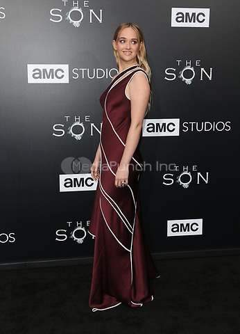 "HOLLYWOOD, CA - April 03: Jess Weixler, At AMC's ""The SON"" Premiere in LA At ArcLight Hollywood  In California on April 03, 2017. Credit: FS/MediaPunch"