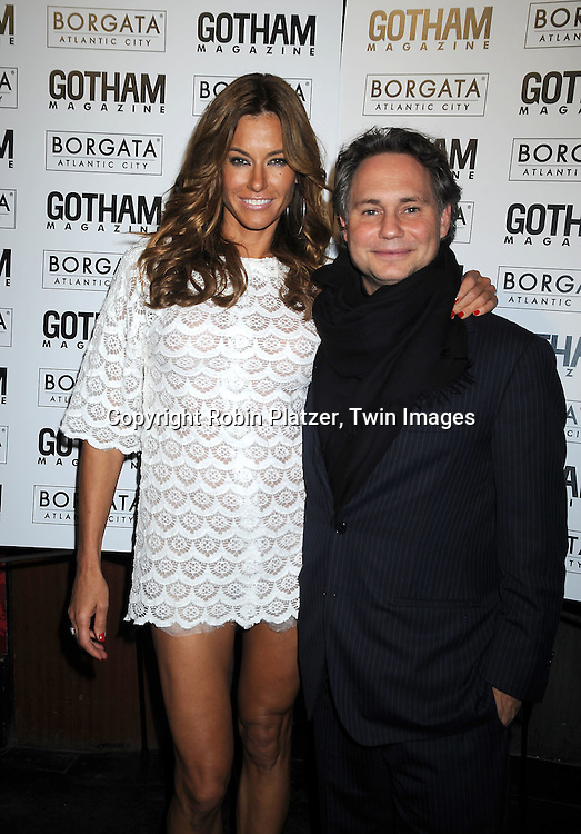 Kelly Bensimon and Jason Binn