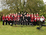 Tredagh Singers pictured at Listoke Gardens. Photo:Colin Bell/pressphotos.ie