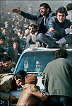 Iranian revolution, return of the Ayatollah Khomeini, Tehran, Iran, February 1979.