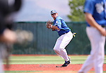 Western Nevada shortstop Casey Cornwell makes a play against Utah State University Eastern at WNC in Carson City, Nev., on Friday, April 29, 2016.<br />Photo by Cathleen Allison/Nevada Photo Source