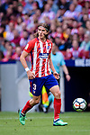 Filipe Luis of Atletico de Madrid in action during the La Liga match between Atletico Madrid and Eibar at Wanda Metropolitano Stadium on May 20, 2018 in Madrid, Spain. Photo by Diego Souto / Power Sport Images