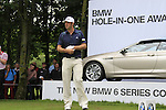 Dustin Johnson (USA) on the par3 17th tee during Day 1 of the BMW International Open at Golf Club Munchen Eichenried, Germany, 23rd June 2011 (Photo Eoin Clarke/www.golffile.ie)