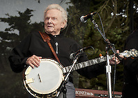 Ralph Stanley photographed at the Hardly Strictly Bluegrass Festival in San Francisco, CA October 2, 2010©Jay Blakesberg/MediaPunch