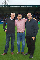 The sponsors before the Carabao Cup match between Wycombe Wanderers and Fulham at Adams Park, High Wycombe, England on 8 August 2017. Photo by Alan  Stanford / PRiME Media Images.