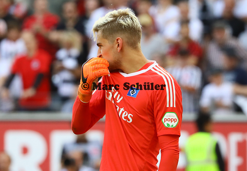 Torwart Julian Pollersbeck (Hamburger SV) - 05.05.2018: Eintracht Frankfurt vs. Hamburger SV, Commerzbank Arena, 33. Spieltag Bundesliga