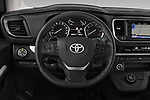 Car pictures of steering wheel view of a 2018 Toyota Proace-Verso VIP 5 Door Minivan Steering Wheel
