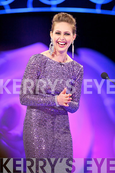 Texas Rose Cyndi Crowell at the Tuesday night selection of the 2014 Rose of Tralee International Festival, held in the Dome, Tralee.