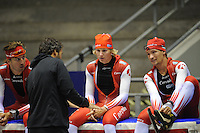 SCHAATSEN: HEERENVEEN: 18-06-2014, IJsstadion Thialf, Zomerijs training, Team Corendon, ©foto Martin de Jong
