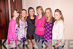 Fashion Goers: Cahersiveen Rowing Club held 'A Night of Fashion' at The Ring of Kerry Hotel on Saturday night last present were l-r; Grace O'Connell, Sarah Louise O'Connell, Me?abh Daly, Ro?isi?n Kissane, Emma O'Shea & Shauna 'Casu?r' Clifford.