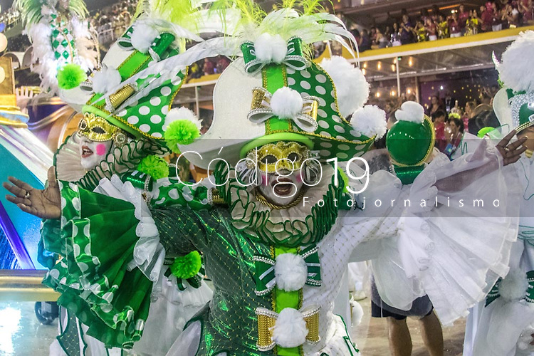 Rio de Janeiro (RJ), 22/02/2020 CARNAVAL - RJ - DESFILE - Desfile das escolas de samba Imperatriz, da Serie A, neste sabado (22), no sambodromo, no centro do Rio de Janeiro (RJ). (Foto: Ellan Lustosa/Codigo 19/Codigo 19)