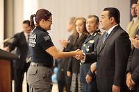 Quer&eacute;taro, Qro. 20 de diciembre de 2015.- la Secretar&iacute;a de seguridad p&uacute;blica municipal realiz&oacute; la celebraci&oacute;n el d&iacute;a de el polic&iacute;a.<br /> <br /> En este en esta conmemoraci&oacute;n se reconoci&oacute; la labor de elementos administrativos y efectivos de la polic&iacute;a de la capital del estado.<br /> <br /> Foto: Victor Pichardo.