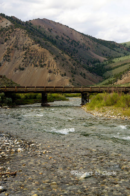 Wildhorse Creek in the Copper Basin area near Sun Valley, Idaho