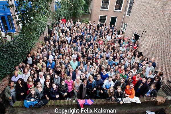 Utrecht, 12 september 2011.Nederlands Film Festival NFF 2011.Vrijwilligers bijeenkomst.Foto Felix Kalkman